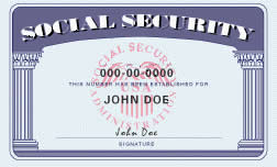 Social Security Card - SSN