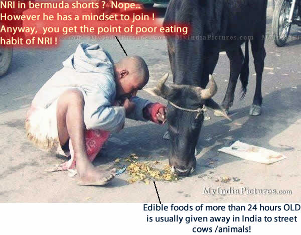 NRI Eating Poor